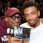 Spike Lee with his son Jackson Lee