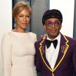 Spike Lee with his wife Tonya Lewis Lee