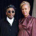 Spike Lee with his wife Tonya Lewis Lee image