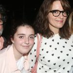 Tina Fey with daughter Alice Zenobia Richmond
