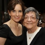 Tina Fey with her mother Jeanne Fey