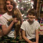 Toby Nichols with his brother Seth Nichols