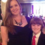 Toby Nichols with his mother Bridget Nichols