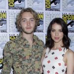 Toby Regbo with his ex-girlfriend Adelaide Kane