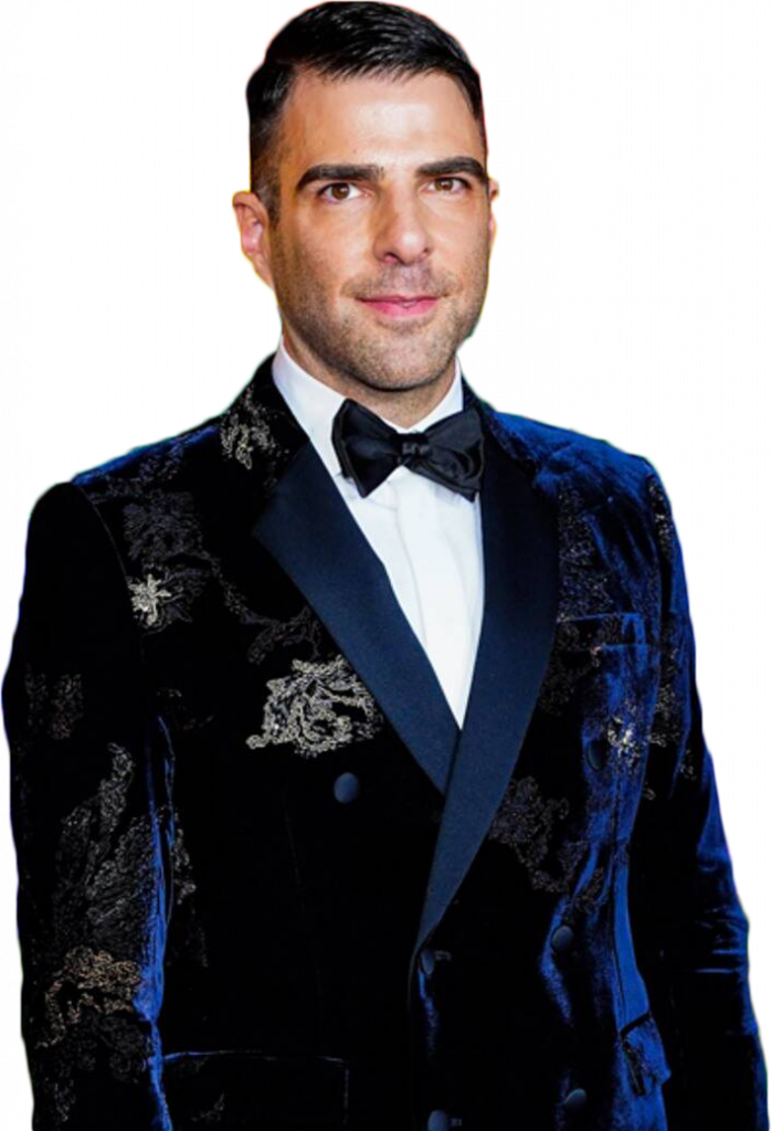 Zachary Quinto transparent background png image