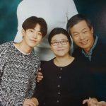 Nam Joo-hyuk with his father and mother