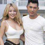 YaYa Truong Nhi with her boyfriend