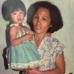 YaYa Truong Nhi with her mother