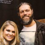 Adam Copeland with his girlfriend Beth Phoenix