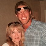 Adam Copeland with his mother Judy Copeland