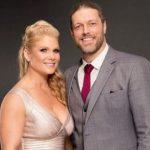 Adam Copeland with his wife Beth Phoenix