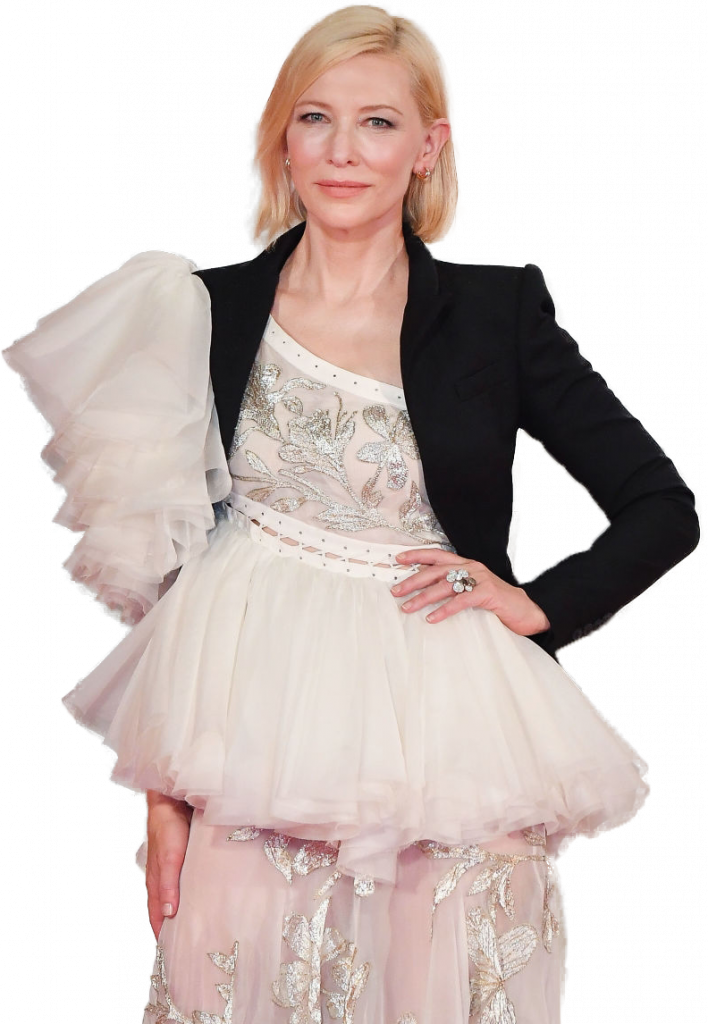 Cate Blanchett transparent background png image