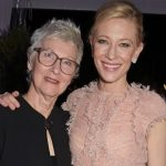 Cate Blanchett with her mother June Blanchett