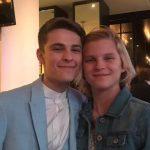 Corey Fogelmanis with his brother Baylee Fogelmanis