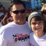 Corey Fogelmanis with his father Dain Fogelmanis