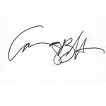 Courtney B. Vance signature