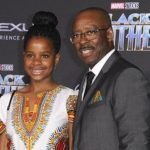 Courtney B. Vance with his daughter Bronwyn Vance