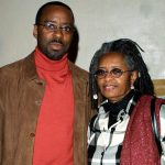 Courtney B. Vance with his mother Leslie Vance