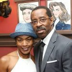 Courtney B. Vance with his sister Cecilie Vance