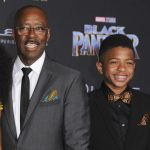 Courtney B. Vance with his son Slater Vance