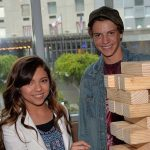 Cree Cicchino with her ex-boyfriend Jace Norman
