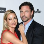 Denise Richards with her boyfriend Aaron Phypers