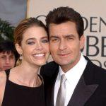Denise Richards with her ex-boyfriend Charlie Sheen