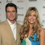Denise Richards with her father Irv Richards