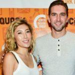 Dichen Lachman with her boyfriend Maximilian Osinski