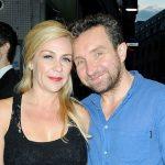 Eddie Marsan with his girlfriend Janine Schneider