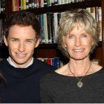 Eddie Redmayne with his mother Patricia Redmayne
