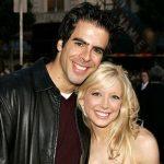 Eli Roth with his ex-girlfriend Courtney Peldon