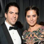 Eli Roth with his ex-wife Lorenza Izzo