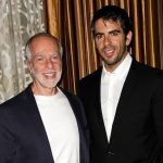 Eli Roth with his father Sheldon Roth