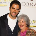 Eli Roth with his mother Cora Roth