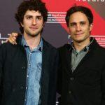 Gael Garcia Bernal with his brother Dario Yazbek Bernal