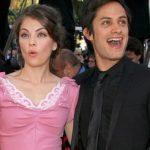 Gael Garcia Bernal with his ex-girlfriend Natalie Portman
