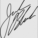 Jack Black signature
