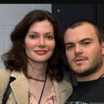 Jack Black with ex-girlfriend Laura Kightlinger