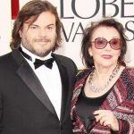 Jack Black with his mother Judith Love