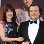 Jack Black with his wife Tanya Haden