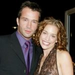 James Purefoy with his ex-girlfriend Piper Perabo