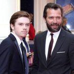 James Purefoy with his son Rose Purefoy