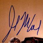 Joel McHale signature