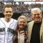 Joel McHale with his father and mother