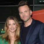 Joel McHale with his wife Sarah Williams