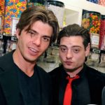 Joey Lawrence with his brother Andrew Lawrence