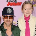Joey Lawrence with his daughter Charleston Lawrence