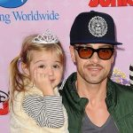 Joey Lawrence with his daughter Liberty Grace Lawrence