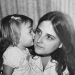 Katrina Norman with her mother